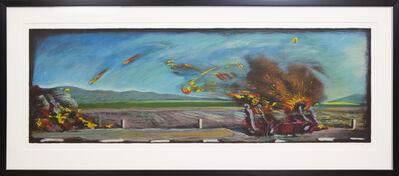 Carlos Almaraz, 'West Coast Crash', 1990