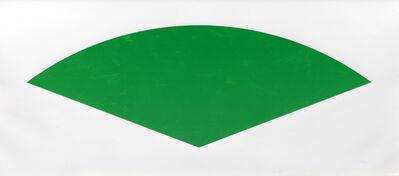 Ellsworth Kelly, 'Green Curve', 1988