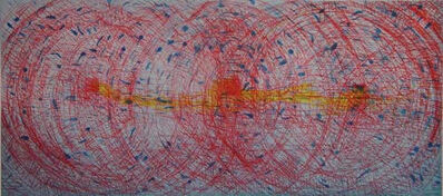 Pat Steir, 'Shape of Water', 2003