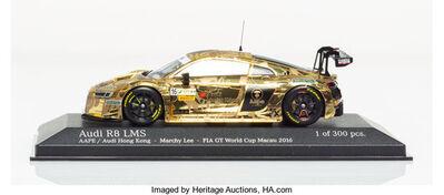 BAPE, 'Audi R8 LMS (Gold)', 2019