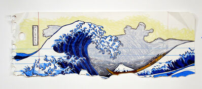 Michael Scoggins, 'The Great Wave off Kanagawa (after Hokusai)', 2017