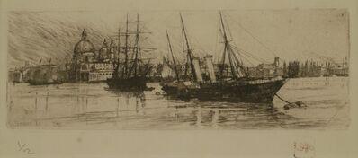 Otto Henry Bacher, 'Bacino, Venice', 1880
