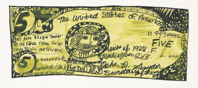 Christina Marie Fong, 'Five Dollar Bill', 2011