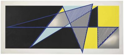 "Roy Lichtenstein, 'Imperfect 44 3/4"" x 103"", from Imperfect Series', 1988"