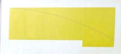 Robert Mangold (b.1937), 'C Yellow', 1979