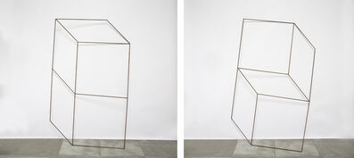 Lukas Ulmi, 'Formed Cubes. Diptych', 2019