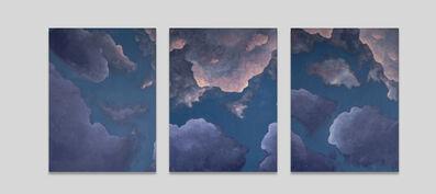 Liv Dockerty, 'A Girl with Kaleidoscope Eyes (triptych)', 2020