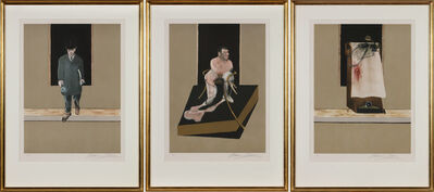 Francis Bacon, 'Triptych 1986-87', 1987