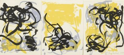 Joan Mitchell, 'Little Weeds I and II and Weeds III', circa 1992