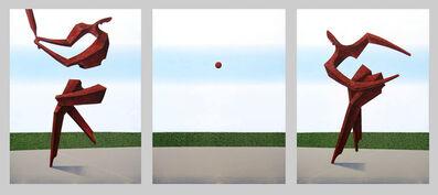 Adam Bakalarz, 'BB09A triptych', 2016