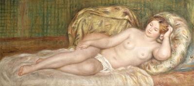 Pierre-Auguste Renoir, 'Large Nude on Cushions', 1907