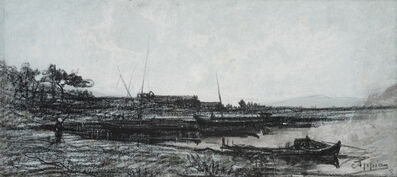 Adolphe Appian, 'View of an Estuary near Martigues', 1818-1898