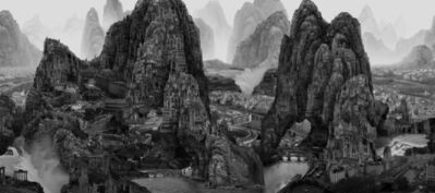 Yang Yongliang 杨泳梁, 'Journey to the Far', 2017