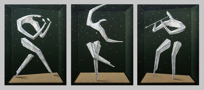 Adam Bakalarz, '3M01 triptych', 2016