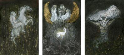 Ana Maria Pacheco, 'Nights (Triptych)', 2019