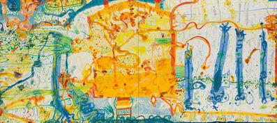 John Olsen (b.1928), 'Holiday by the Sea', 1993