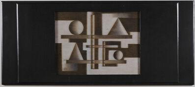 Pedro Alvarez, 'Untitled. Geometric Composition', ca. 1950