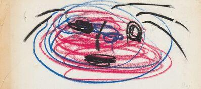 Enrico Baj, 'Personaggio - Mail Art', 1955