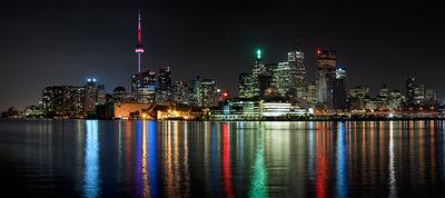 Andrew Prokos, 'Panoramic Skyline of Toronto at Night', 2016
