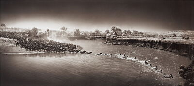 Nick Brandt, 'Masai Mara, Zebra Crossing River', 2006