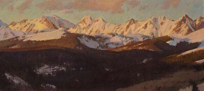 John Taft, 'Sunset Summit', 2019