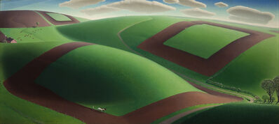 Grant Wood, 'Spring Turning', 1936
