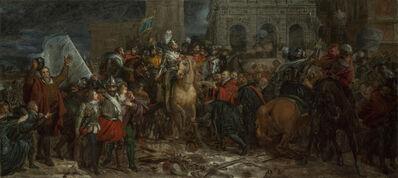 François-Pascal-Simon, called Baron Gérard, 'Entry of Henri IV into Paris, 22 March 1594', ca. 1816