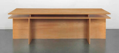 Donald Judd, ' Desk #33/4 ', 2003