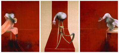 Francis Bacon, 'Second Version of Triptych 1944', 1988
