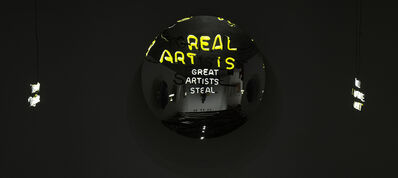 Camilo Matiz, 'Great Artists Steal / Real Art Is', 2016