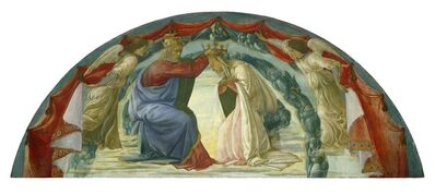 Filippino Lippi, 'The Coronation of the Virgin', ca. 1475