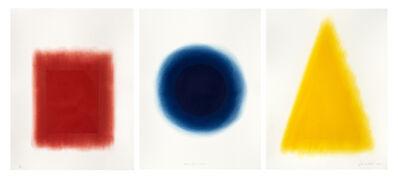 David Nash, 'Red, Blue, Yellow', 2014