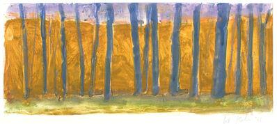 Wolf Kahn, 'OCHRE BACKGROUND', 2006