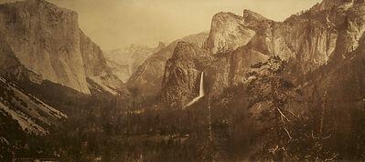 William Henry Jackson, 'Yosemite Valley from Artist Point', 1899