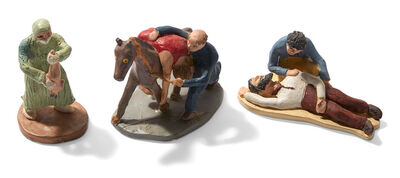 Sue Gerard, 'Group of Three Rescue and Resuscitation Sculptures, circa', 1975-89