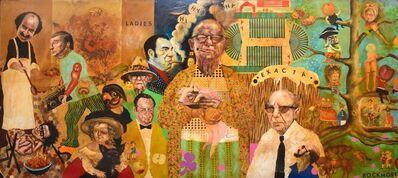 Noel Rockmore, 'McGlade's Bar Mural Panel No. 2', ca. 1970