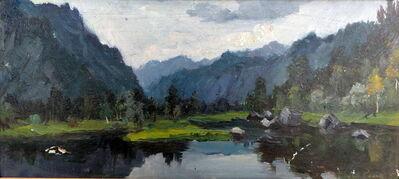 Mikhail Mitrofanovich Yesin, 'Mountain Scenery', ca. 1969