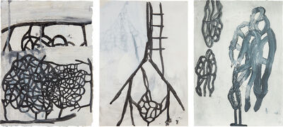 Terry Winters, 'Three works: (i) Genova; (ii) Untitled #10; (iii) Untitled #12'