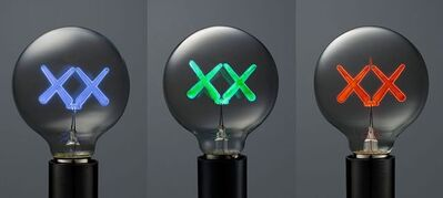 KAWS, 'Lightbulbs for the Standard Hotel (Set of 3)', 2011