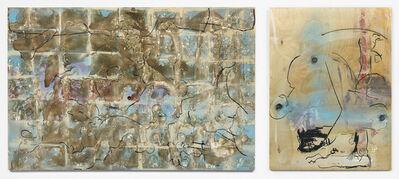 Uri Aran, 'Multicoloured Blue Crunch', 2016