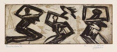 Munira Al Kazi, 'Primitive Woman', 1962