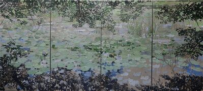Brendan Stuart Burns, 'Waterlily Bosherston', 2020