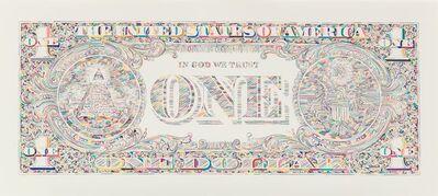 Tom Friedman, 'Dollar Bill Back', 2011