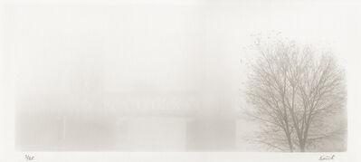 Kerik Kouklis, 'Tower Bridge in Fog, Sacramento, CA', 1996