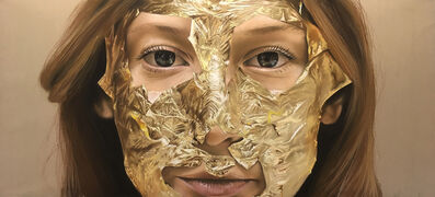Oliver Jones, 'Gold Lead Face Mask II', 2018