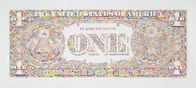 Tom Friedman, 'Untitled (dollar print, back)', 2011
