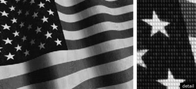 Alex Guofeng Cao, 'FLAG vs JFK', 2011