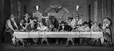 David Yarrow, 'The Last Supper in Texas', 2021