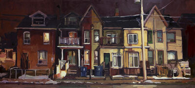 Brian Harvey, 'Five Houses on Broadview', 2019