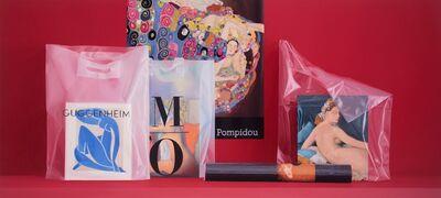 Carlos Vega Faúndez, 'Serie Museos. Composición con bolsas', 2018